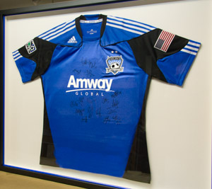 Earthquakes Jersey, Autographed