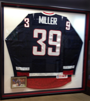 Ryan Miller's 2010 Olympic Jersey